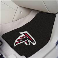 "Atlanta Falcons 2-Piece Carpeted Car Mats 18""x27"""