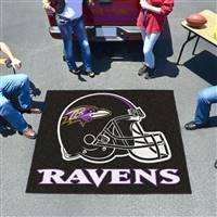 "Baltimore Ravens Tailgating Mat 60""x72"""