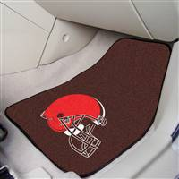 "Cleveland Browns 2-Piece Carpeted Car Mats 18""x27"""