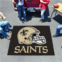 "New Orleans Saints Tailgating Mat 60""x72"""