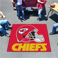 "Kansas City Chiefs Tailgating Mat 60""x72"""