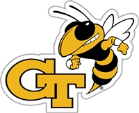 "Georgia Tech Yellow Jackets 12"" Vinyl Magnet"