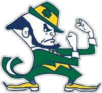 "Notre Dame Fighting Irish 12"" Vinyl Magnet"