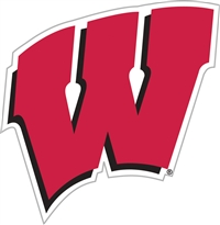 "Wisconsin Badgers 12"" Vinyl Magnet"