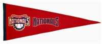 Washington DC Nationals Traditions Mid-Size Wool Pennant