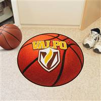 "Valparaiso Crusaders Basketball Rug 29"" diameter"
