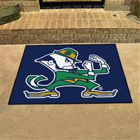 "Notre Dame Fighting Irish Mascot All-Star Rugs 34""x45"""