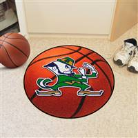 "Notre Dame Fighting Irish Basketball Rug 29"" Diameter"