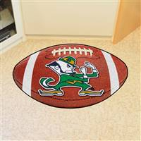 "Notre Dame Irish Football Rug 22""x35"""