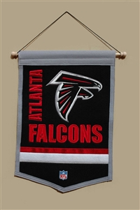 Atlanta Falcons Traditions Mid-Size Wool Banner