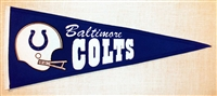 Baltimore Colts Throwback Mid-Size Wool Pennant