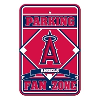 Los Angeles (Anaheim) Angels Plastic Parking Sign