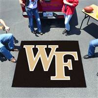 "Wake Forest Demon Deacons Tailgater Rug 60""x72"""