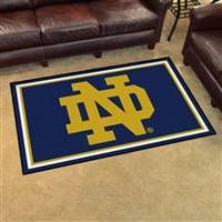 "Notre Dame Fighting Irish Mascot 4x6 Area Rug 46""x72"""