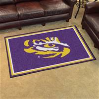 "Louisiana State LSU Tigers 4x6 Area Rug 46""x72"""
