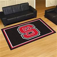 "North Carolina State Wolfpack 5x8 Area Rug 60""x92"""