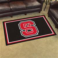 "North Carolina State Wolfpack 4x6 Area Rug 46""x72"""