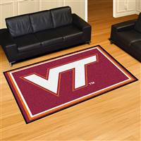 "Virginia Tech Hokies 5x8 Area Rug 60""x92"""