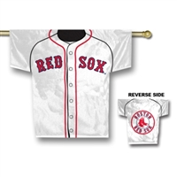 "Boston Red Sox Jersey Banner 34"" x 30"" - 2-Sided"