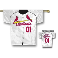 "St. Louis Cardinals Jersey Banner 34"" x 30"" - 2-Sided"