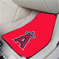 "Los Angeles Anaheim Angels 2-Piece Carpeted Car Mats 18""x27"""