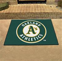 "Oakland Athletics Allstar Rug 34""x45"""