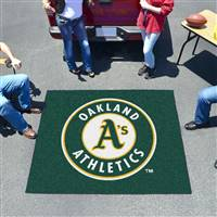 "Oakland Athletics Tailgating Mat 60""x72"""