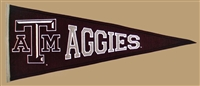Texas A&M Aggies Traditions Mid-Size Wool Pennant