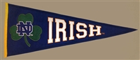 Notre Dame Fighting Irish (Clover Leaf/Irish) Traditions Mid-Size Wool Pennant