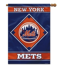 "New York Mets House Banner 28"" x 40"""