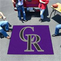 "Colorado Rockies Tailgating Mat 60""x72"""