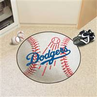 "Los Angeles Dodgers Baseball Rug 29"" Diameter"