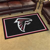 "Atlanta Falcons 4x6 Area Rug 46""x72"""