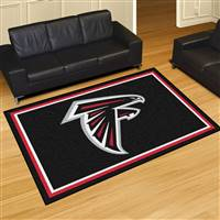 "Atlanta Falcons 5x8 Area Rug 60""x92"""