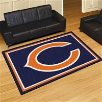 "Chicago Bears 5x8 Area Rug 60""x92"""