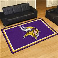 "Minnesota Vikings 5x8 Area Rug 60""x92"""