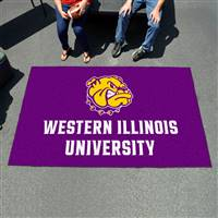"Western Illinois Leathernecks Ulti-Mat, 60"" x 96"""