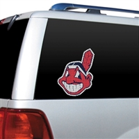 Cleveland Indians Diecut Window Film