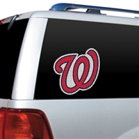 Washington Nationals Diecut Window Film
