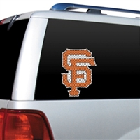 San Francisco Giants Diecut Window Film