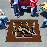 "Western Michigan Broncos Tailgater Rug 60""x72"""