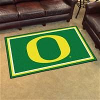 "Oregon Ducks 4x6 Area Rug 46""x72"""