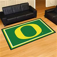 "Oregon Ducks 5x8 Area Rug 60""x92"""