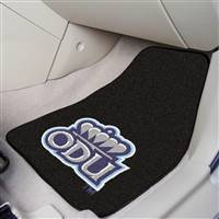 "Old Dominion Monarchs 2-piece Carpeted Car Mats 18""x27"""