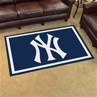 "New York Yankees 4x6 Area Rug 46""x72"""