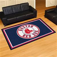 "Boston Red Sox 5x8 Area Rug 60""x92"""