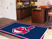 "Cleveland Indians 5x8 Area Rug 60""x92"""