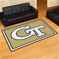 "Georgia Tech Yellow Jackets 5x8 Area Rug 60""x92"""