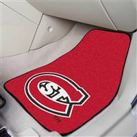 "St. Cloud State Huskies 2-piece Carpeted Car Mats 18""x27"""