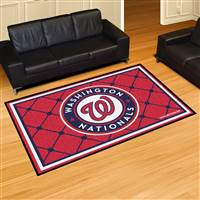 "Washington Nationals 5x8 Area Rug 60""x92"""